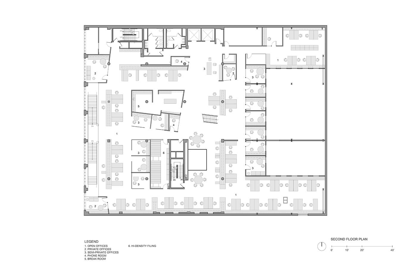 Chronicle books headquarters mark cavagnero for Floor plan book