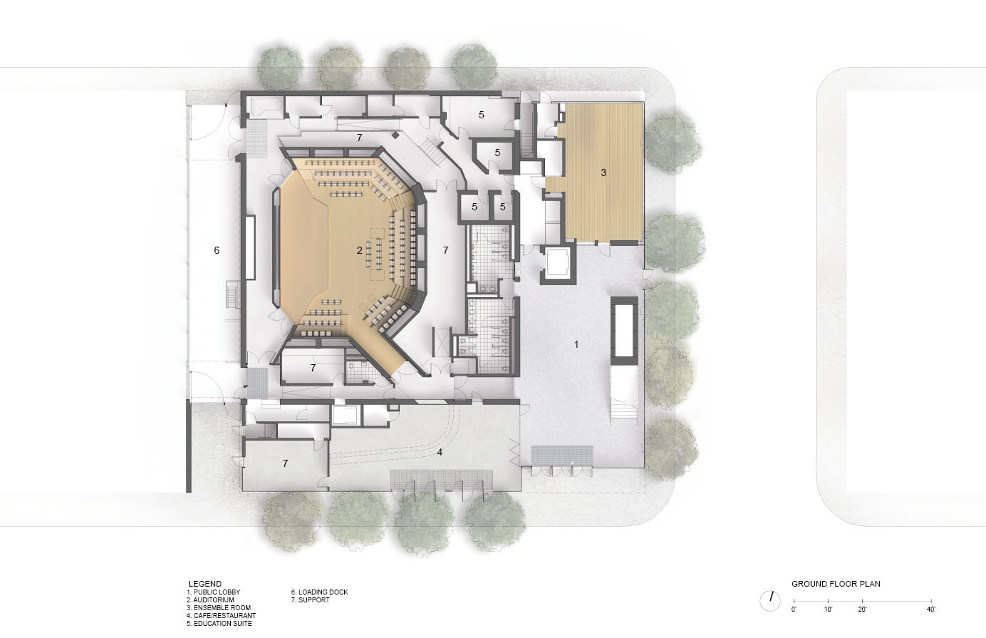 Mark Cavagnero Ociates Architects Projects Sfjazz Center